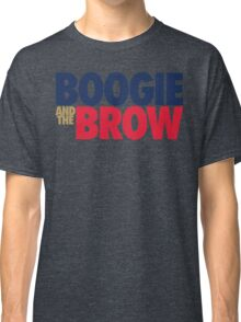 Boogie And The Brow (Blue/Gold/Red) Classic T-Shirt