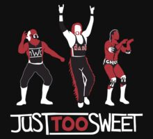 """Just Too Sweet"" Wrestling Design T-Shirt"
