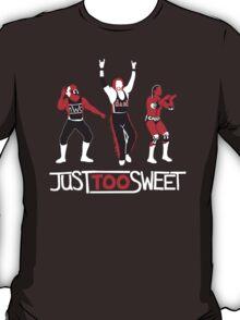 """Just Too Sweet"" Wrestling Design T-Shirt"