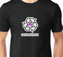 100% Recycled Ideas (aka Postmodernism) Unisex T-Shirt