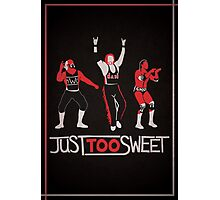 """""""Just Too Sweet"""" Wrestling Design Photographic Print"""