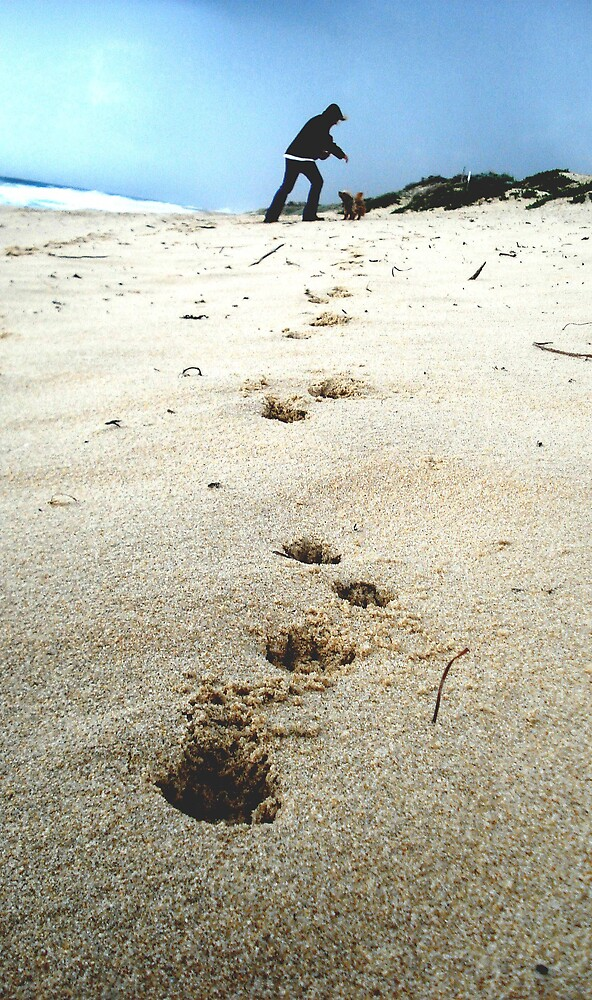 foot prints by yellowcar9
