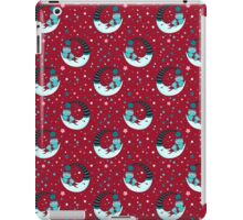 Two Bears on the moon Chrismas Sky. iPad Case/Skin