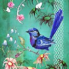 Blue bird by Marie Magnusson