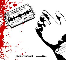American Excess - Swipe your card. by nofrillsart
