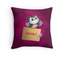 Pigwidgeon Throw Pillow