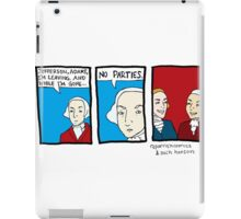 No Parties iPad Case/Skin