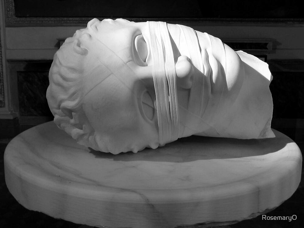 Head on a platter by RosemaryO