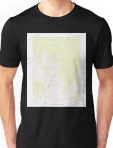 USGS TOPO Map Colorado CO Capitol Peak 400513 1960 24000 Unisex T-Shirt