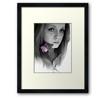 Holly Framed Print