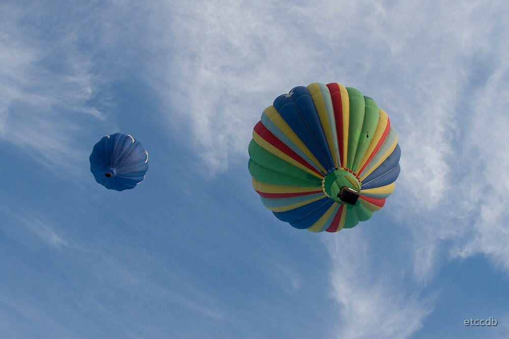 hot air balloons by etccdb