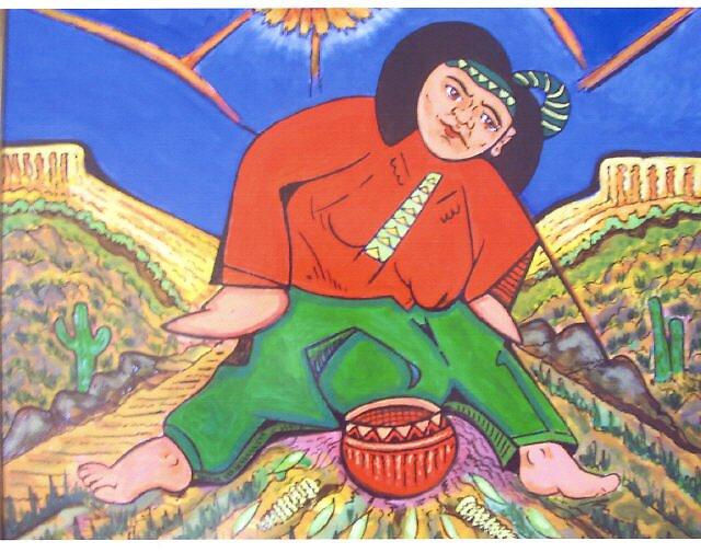navajo lady by madvlad