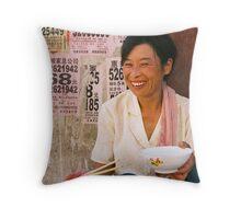 Comfort Food Throw Pillow