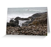 Giant's Causeway County Antrim Ireland Greeting Card