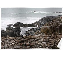 Giant's Causeway County Antrim Ireland Poster