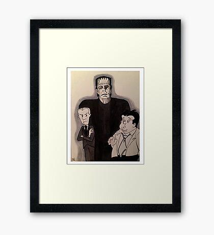 Bud, Lou & Frankie...  Framed Print
