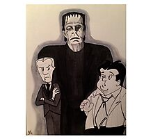 Bud, Lou & Frankie...  Photographic Print