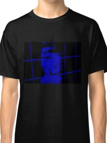 blue doll behind bars Classic T-Shirt