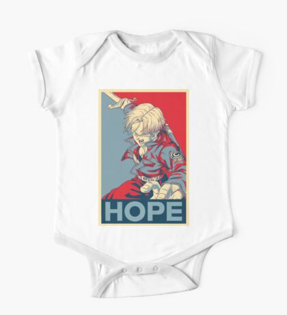 [Version 4/4] Future Trunks Hope Poster One Piece - Short Sleeve