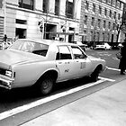 New York Cab by Tracey Hudd