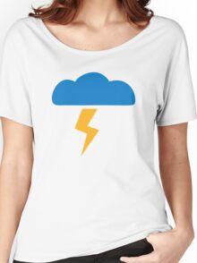 Thunderstorm lightning Women's Relaxed Fit T-Shirt