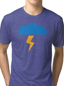 Thunderstorm lightning Tri-blend T-Shirt