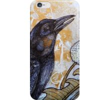 Dandelion and Crow iPhone Case/Skin