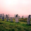 Calanais Stones by kroscoe