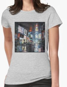 Nights on Broadway Womens Fitted T-Shirt