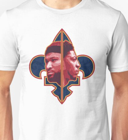 Anthony Davis and DeMarcus Cousins Unisex T-Shirt
