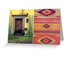 San Miguel de Allende - Postcard 21 Greeting Card