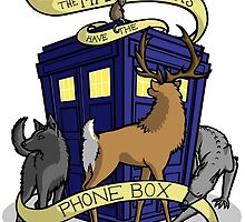The Marauders Have The Phonebox by An0nym0use