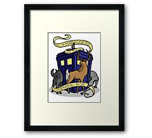 The Marauders Have The Phonebox Framed Print