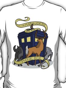 The Marauders Have The Phonebox T-Shirt