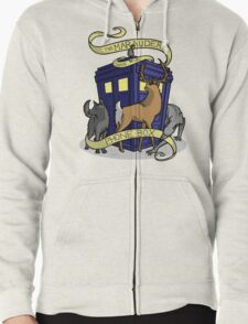 The Marauders Have The Phonebox Zipped Hoodie