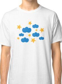 Clouds stars Classic T-Shirt