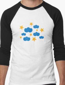 Clouds stars Men's Baseball ¾ T-Shirt