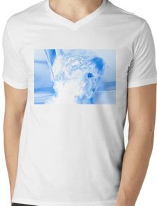 ice cold blue doll Mens V-Neck T-Shirt
