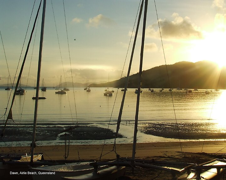 Dawn, Airlie Beach, Queensland by alanlowney