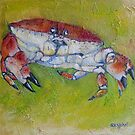 Edible Crab by Sue Nichol