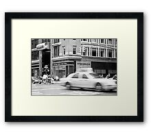 Gotham Bank Framed Print