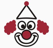 Clown face Kids Tee