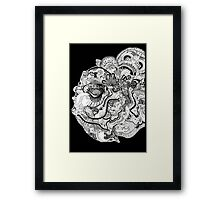 Insanity of Life Framed Print