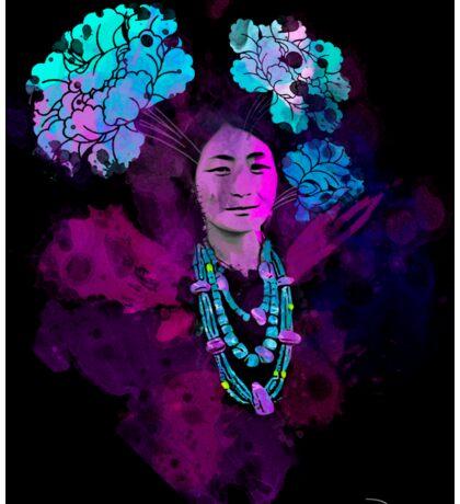 Tibetan Prints (Achi Drogmo #1) Sticker