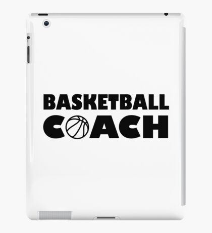 Basketball coach iPad Case/Skin