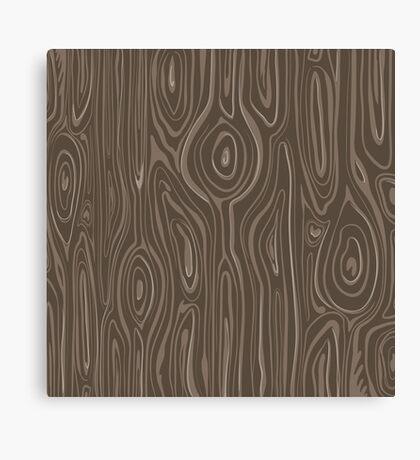 Faux Wood Canvas Print
