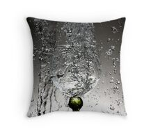 Movement of water 3 Throw Pillow
