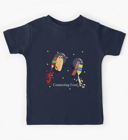 Fast food connecting Kids Tee