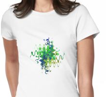 Squiggle Womens Fitted T-Shirt