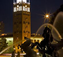 Kansas City Plaza Fountain by BCinMB